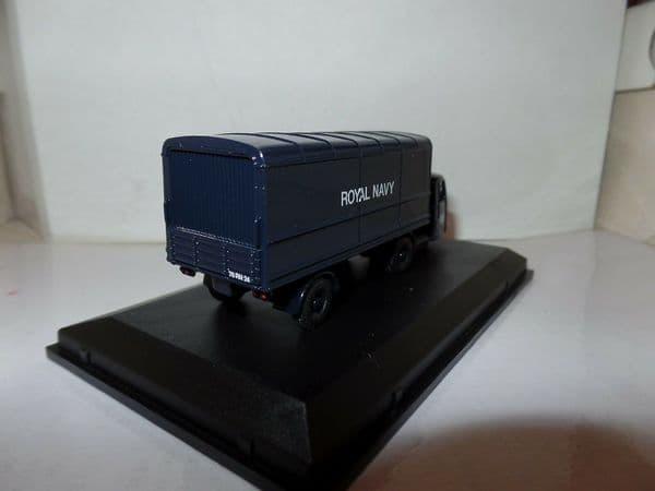 Oxford 76RAB010 RAB010 1/76 OO Scale Scammel Scarab Box Trailer Royal Navy RN